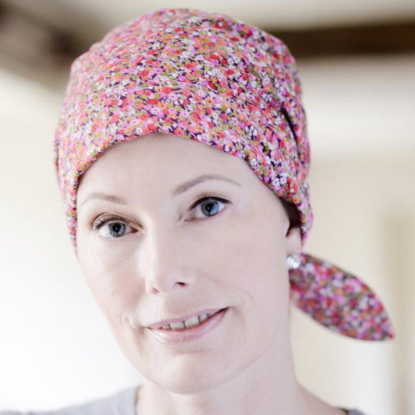 Alice headscarf for cancer patients in Tana Lawn