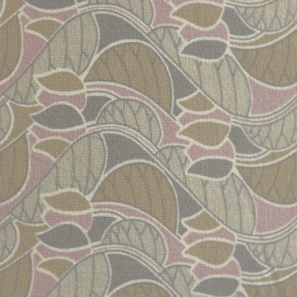 Liberty Jersey Brown Decco Fabric