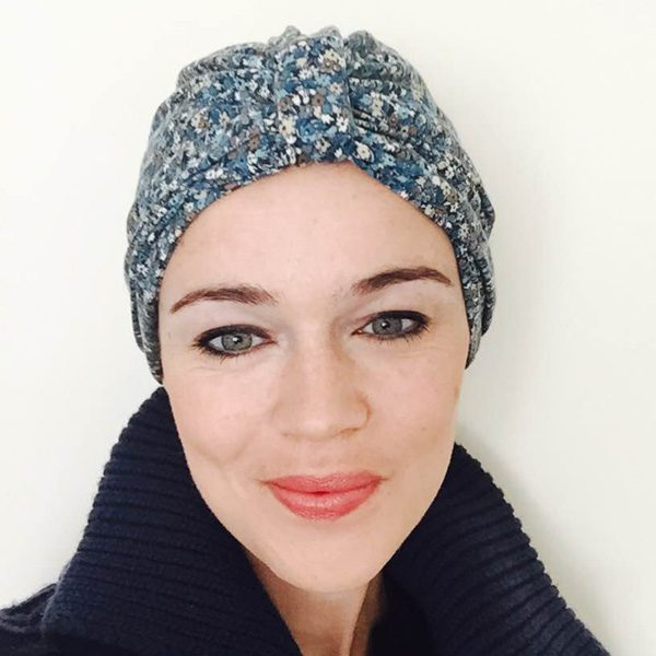 Liberty Print Hat for Chemotherapy Patients