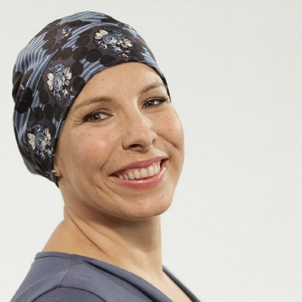 Alice headscarf for cancer patients in Silk