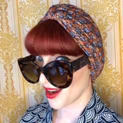 Plum Poppy Chemo Turban