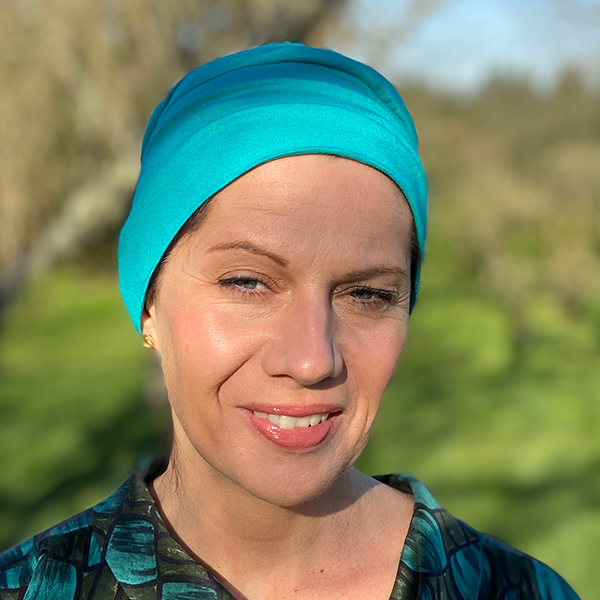 Emerald Green Bamboo Beanie for Cancer Patients