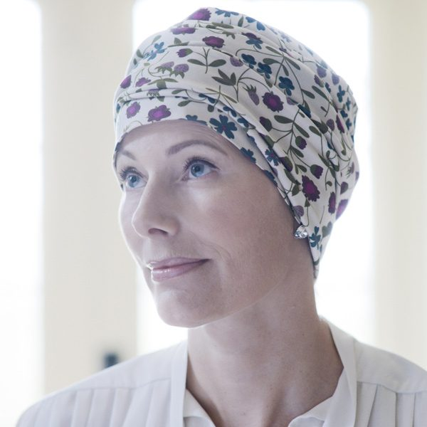 Kitty Liberty Jersey Hat for Cancer Patients