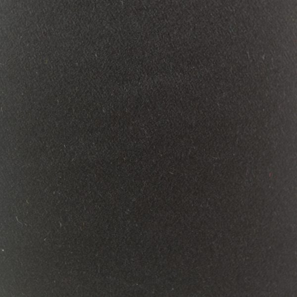 Black silk satin fabric