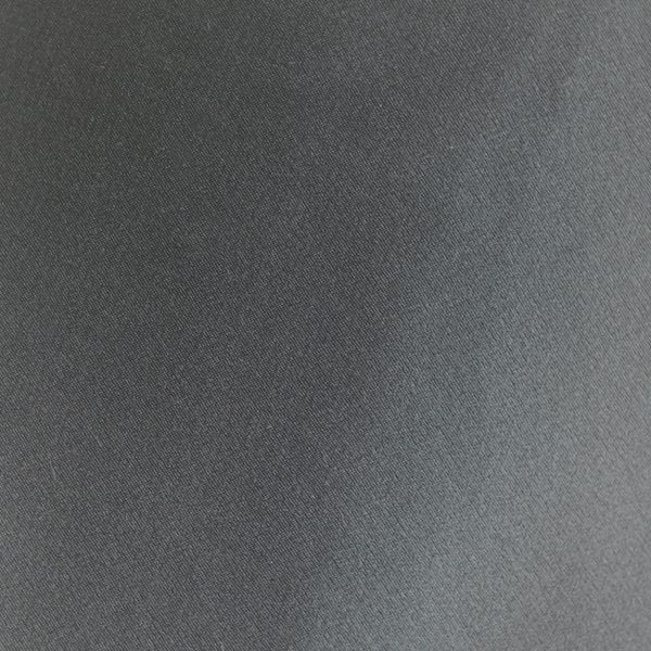 Silk Satin Charcoal fabric