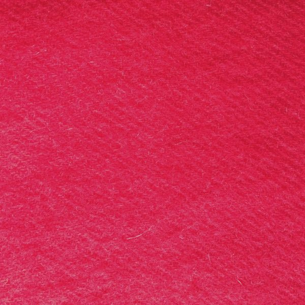 Fiery Red Silk Cashmere