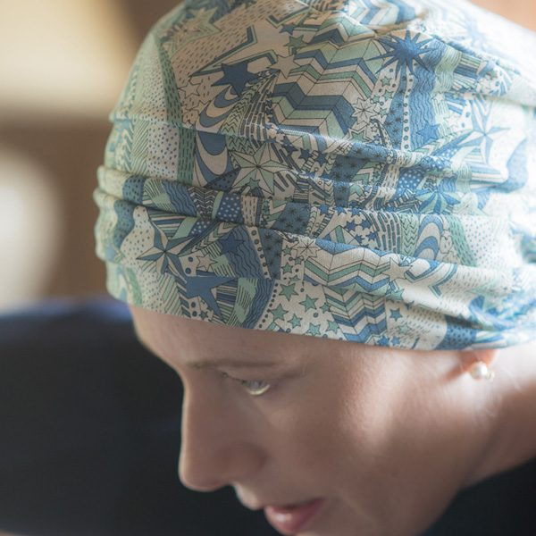 Liberty Stars Cancer Sleep Hat
