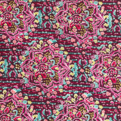 Liberty Jersey Ruby Templar Fabric