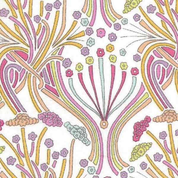 Liberty Tana Lawn Pelagia Pink Fabric