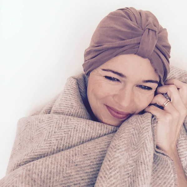 Bamboo Turban for Cancer Sufferers