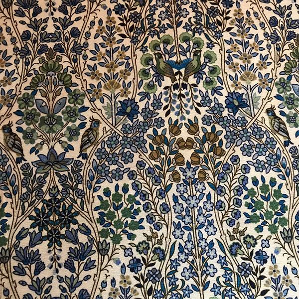 Liberty Jersey Kensington Park Fabric for Cancer Hat