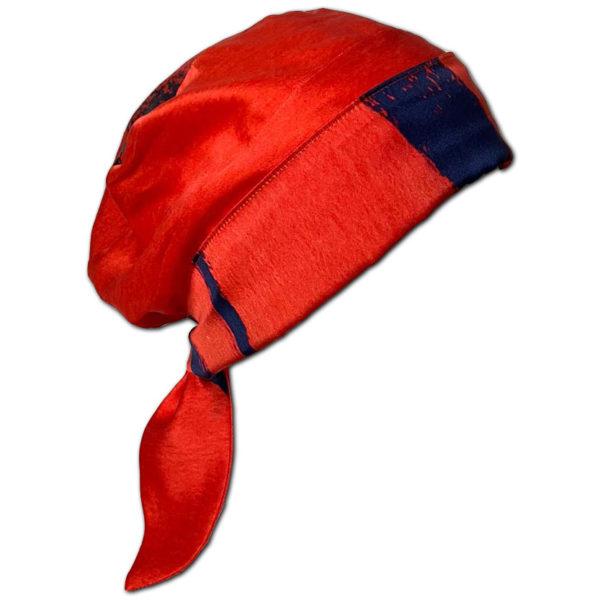 Scarlett Lines Silk Fabric for Chemo Headscarf
