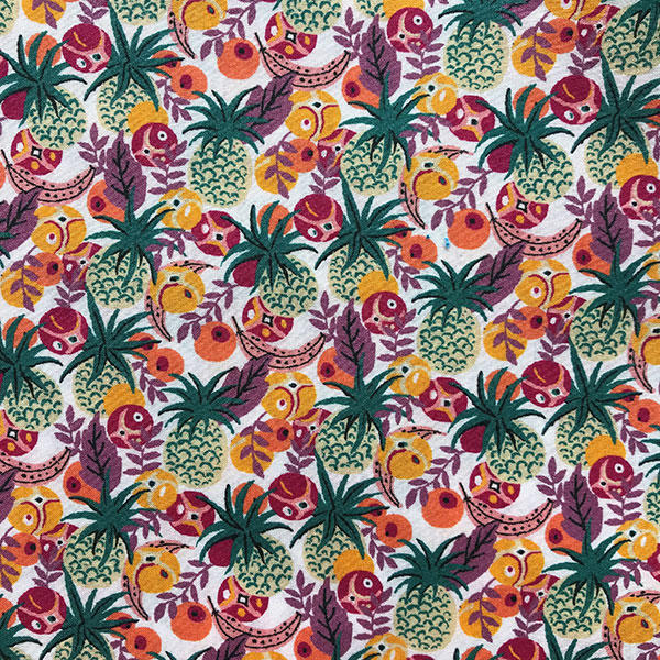 Ibiza Berry Yellow Liberty Tana Lawn Fabric